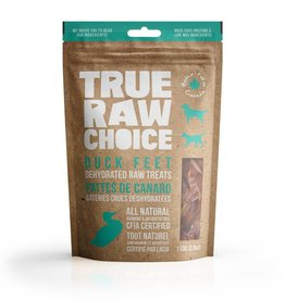 true raw choice True Raw Choice Duck Feet 110g bag