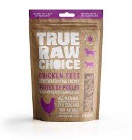 true raw choice True Raw Choice Chicken feet 110g bag