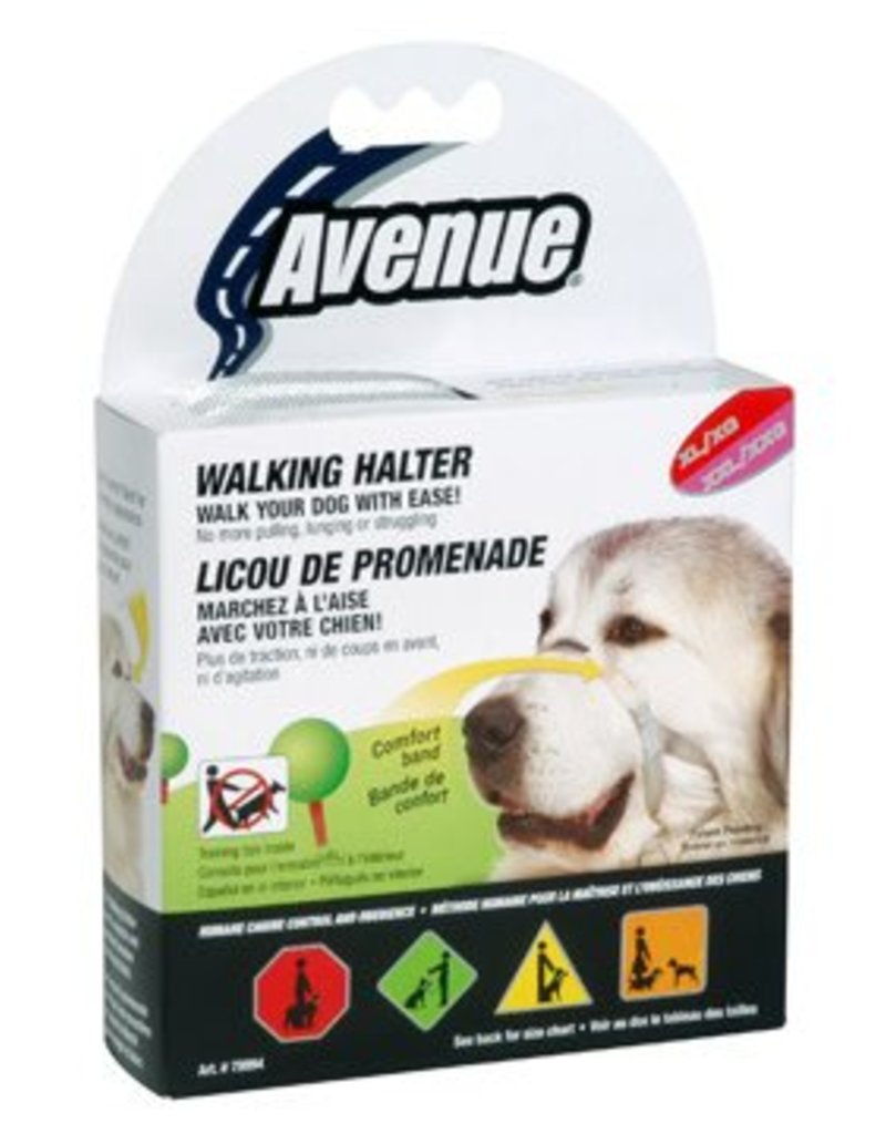 Avenue Walking Halter - Extra Large/Extra X Large - 50 - 65 cm (20in- 25.5in)