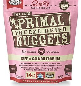 Primal Primal Freeze Dried Cat Nuggets Beef & Salmon 5.5oz