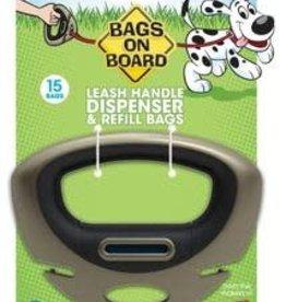 Bags on Board Bags on Board Leash Handle Dispenser 15 Bags