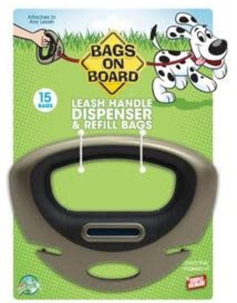 Bags on Board Bags on Board Leash Handle Dispenser 15 Bags