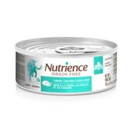 Nutrience Nutrience Grain Free Turkey, Chicken & Duck Pâté for Indoor Cats - 5.5 oz
