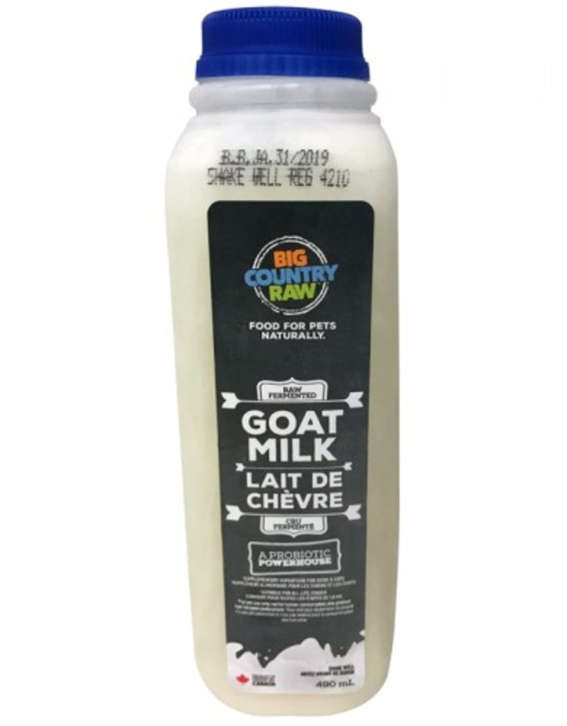 Big Country Raw Big Country Raw Goat Milk 490ml