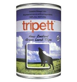 Trippet PetKind Tripett New Zealand Green Lamb Tripe Wet Dog Food 14oz