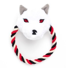 Silver Paw Game of Thrones Rope Toy Ghost Small