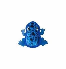 "Outward Hound Outward Hound Tough Skinz Frog Blue Small 9.8"""