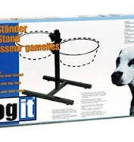 Dogit Dogit Adjustable Dog Bowl Stand - Large - Fits 2 x 2L Dog Bowls