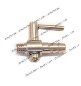 Jehm co Jehm Co Air Valve, Brass Lever style Plated
