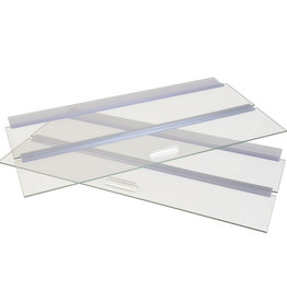 "Seapora Seapora Glass Canopy - 48"" x 13"""