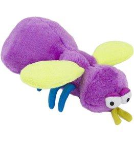"GoDog Bugs Fly Purple W/ Chew Guard Large 8.7"""