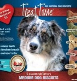 treat time Treat Time Medium Dog Biscuits Assorted 7lb