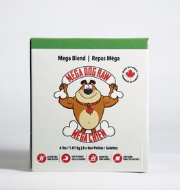 Mega Dog Mega Dog Mega Blend Patties 4 lbs