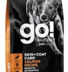 GO! GO! SOLUTIONS Skin + Coat Care Salmon Recipe for Dogs 25lb