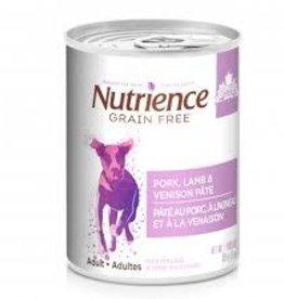Nutrience Nutrience Pork Lamb and Venison Pate 369g