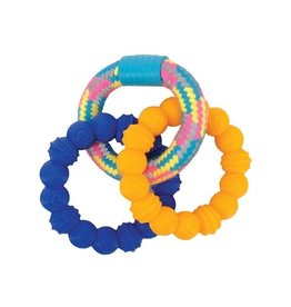 Zeus Mojo Brights TPR & Rope Ring Tug