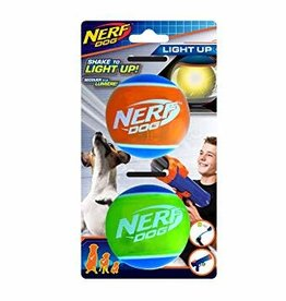 NERF Nerf LED TPR Tennis Ball 2pk