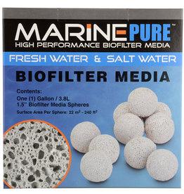 "MarinePure Biofilter Media Spheres - 1.5"" - 1 gal"