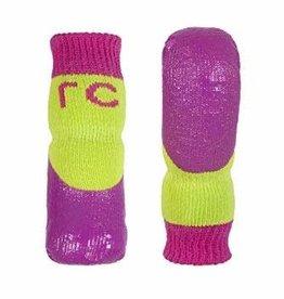 RC Pets RC Pets Sport PAWks Dog Socks Lime/Azalea XL