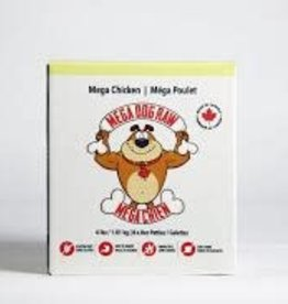 Mega Dog Mega Chicken Patties 4LB