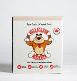Mega Dog Mega Dog Pure Duck Patties 4LB