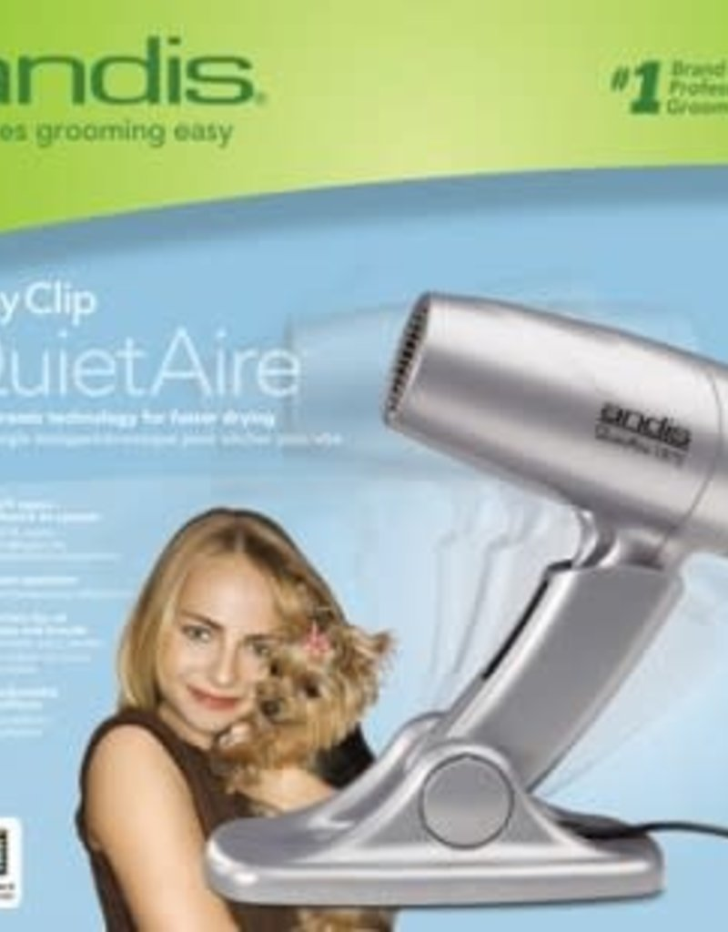 Andis Andis Easy Clip Quiet Air Dryer 1875 watts