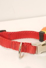 AK-9 AK-9 Adjustable Collar with Metal Buckle 3/4 x 16-22in