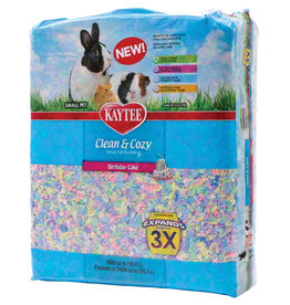 Kaytee Clean and Cozy Small Pet Bedding - 1000 cu in - Birthday Cake