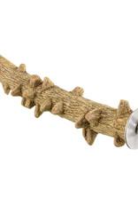 Animal Treasures Birdie Pepper Wood Perch - Large