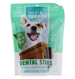 Tropiclean Tropiclean Fresh Breath Dental Stick Vanilla Mint Regular 8pk