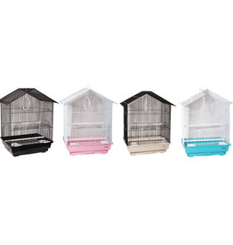 Animal Treasures Animal Treasures House Top Bird Cage 13x10x20