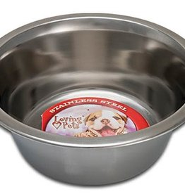Loving Pet Products Loving Pet Products Standard Stainless Steel Dish 1/2 Pint