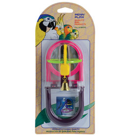 Penn Plax Penn Plax Jingle Bird with Mirror & Perch