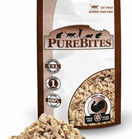 Purebites PureBites Turkey Cat Treat 14gm
