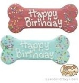 Bosco and Roxy's Bosco and Roxy's Birthday Paw-ty Collection Prepackaged Happy Birthday Bones
