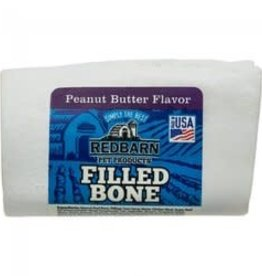 redbarn REDBARN Filled Bone Small Peanut Butter