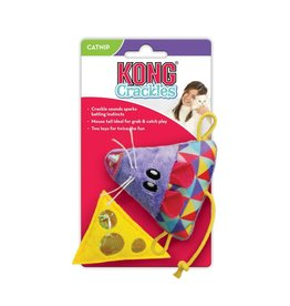Kong KONG Crackles + Cheeze Mouse 2pk