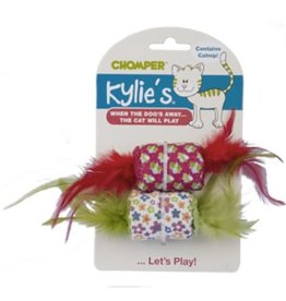 Chomper Kylie's Retro Feather Spool
