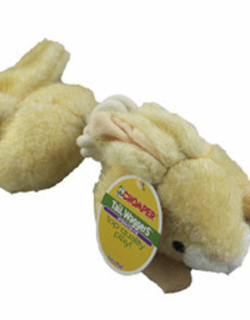 Chomper Tail Wag Safari Rope Rabbit