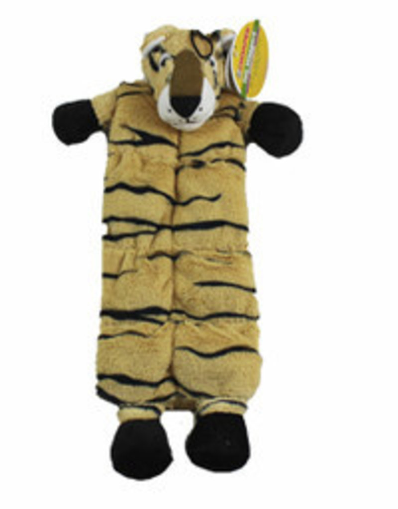 Chomper Tail Wag Squeaker Mat Tiger