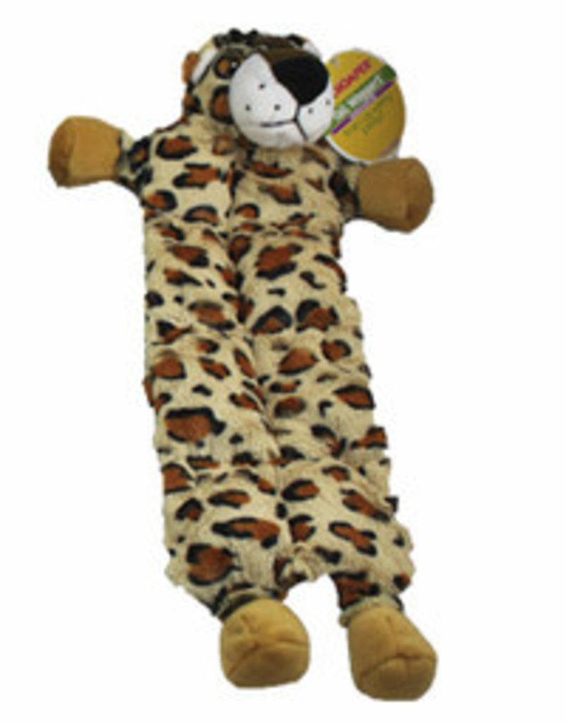 Chomper Tail Wag Squeaker Mat Leopard