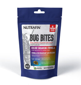 Nutrafin Fluval Bug Bites Colour Enhancing Formula - Medium to Large Fish - 100 g