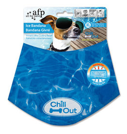All Four Paws AFP Chill Out Ice Bandana, X-Large