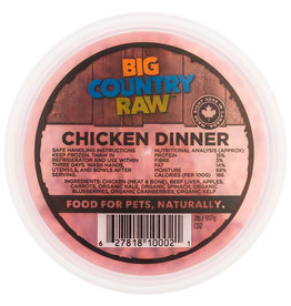Big Country Raw Big Country Raw Chicken Dinner – 2 lb