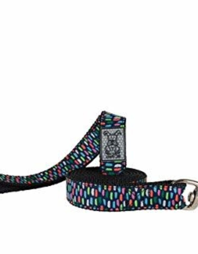 RC Pets RC Pets Leash 3/4x6 Confetti