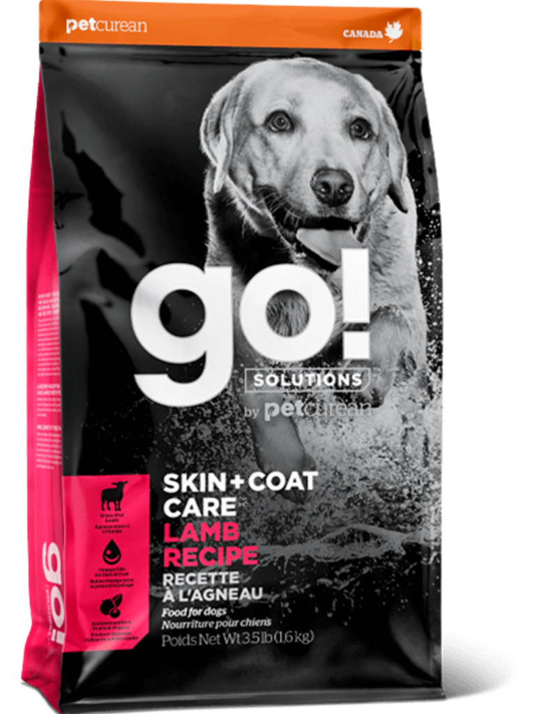 GO! Go Skin and Coat Lamb Meal Dog 25lb
