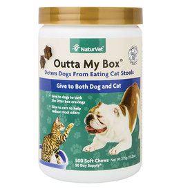 NaturVet Naturvet Soft Chew Outta my Box 500ct