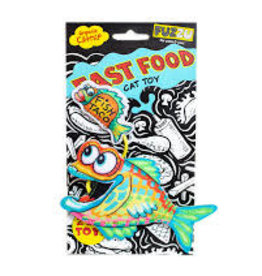 Fuzzu FUZZU Cat Toy Fasst Food Fish