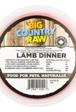 Big Country Raw Big Country Raw Lamb Dinner 2lb