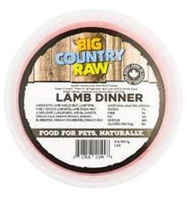 Big Country Raw Big Country Raw Lamb Dinner 2lb